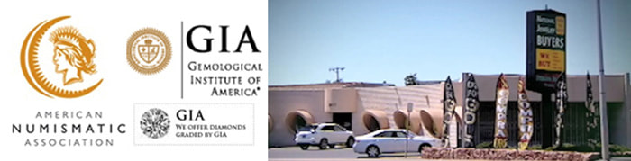 National Jewelry Buyers Building and Membership Accreditation with American Numismatic Association and GIA